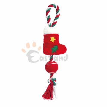 Christmas plush / cotton rope toy