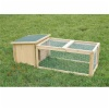 Wooden rabbit hutch in set